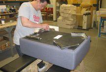 Furniture Manufacturing / Selene Furniture Manufacturing in Vaghan, Ontario Canada.