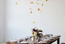 Thanksgiving Decor / It's a holiday we don't normally decorate for, but there are ways to make your house festive for this feasting holiday.