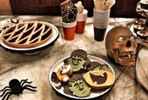 Halloween / Halloween table setting