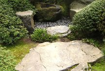 Japanese gardens and fountains