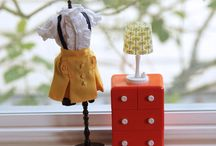 Doll House & furniture / by Tami Teichman Basso
