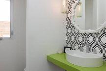 Banheiros/ Lavabos / Pasta dedicada aos banheiros, com estilos, cores, inspirações e desenhos.