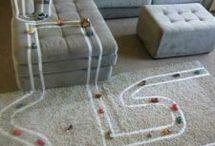 Brinquedos e Brincadeiras / ideias e inspirações com brinquedos reciclados e brincadeiras diversas