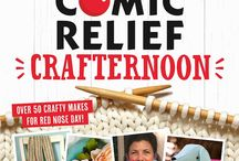 The Big Comic Relief Crafternoon 2017 / Red Nose Day is one glorious excuse to enjoy yourself whilst doing some good. Why not put your make, do and mend skills to raise some cash for Red Nose Day this year? From holding a craft sale to buying The Big Comic Relief Crafternoon 2017 magazine, do whatever you enjoy to raise some life-changing money and help change lives, both here in the UK and across Africa.