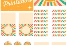 School & Party Printables / Free and for purchase printable to use for parties!