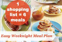 Meal Planning / Delicious, affordable and EASY meal plans to help you cut costs on groceries!