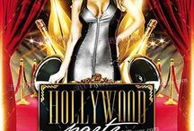 PSD Hollywood Party Flyer