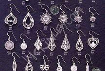 Silver Jewellery, filigree
