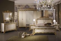 Favoloso Italian Bedroom, Dining & Living Room Collection / The striking high gloss, gold and silver leaf filled carvings, ornate and diamante detailing sets this range in a league of its own, fitting both modern and classically styled homes perfectly.