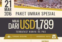 Paket Umrah dan Haji