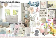 Welcome Baby Mood Board