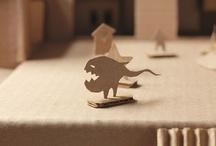 Cardboard Crafts/ Créations à base de carton / by Agathe Bienvenu