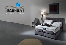Literie Technilat / L'univers de la marque de literie Technilat se trouve ici. Les nouveautés, et tendances du bien dormir en image.