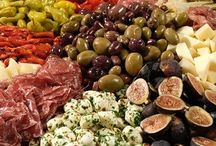 ANTIPASTO PLATTERS / by JANE MARCOTTE