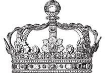 Applikationen Krone sticken Perlen und Straß
