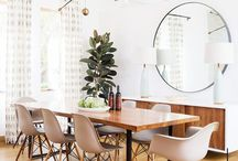 Dining table zone