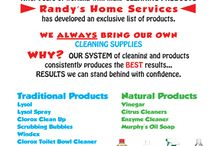 Misc. Tips From Randy / Household Tips