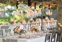 Shabby chic brocante bohème / Ambiance décoration et décoration florale pour mariage