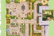 Drawing garden / Disegni giardini