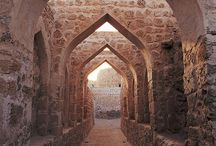 UNESCO World Heritage Sites - Middle East / A collection of the UNESCO sites located in the Middle East. All images are linked to the UNESCO website for more information / by Becky Fenstermaker