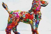 Art--FOUND OBJECTS / by Karen Erickson