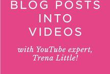 Starting a YouTube Blog
