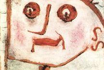 Paul Klee / Paul Klee (Münchenbuchsee, 18 de dezembro de 1879 — Muralto, 29 de junho de 1940) foi um pintor e poeta suíço naturalizado alemão. O seu estilo, grandemente individual, foi influenciado por várias tendências artísticas diferentes, incluindo o expressionismo, cubismo, e surrealismo. Ele foi um estudante do orientalismo.