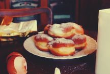 "Fat Thursday in Poland/ Tłusty Czwartek / Polish donuts and ""faworki""...in Three Oaks. We loved it!"