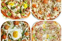 Pizzas, quesadillas...