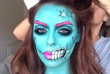 halloween makeup / by Marcy😺