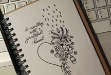 own drawings