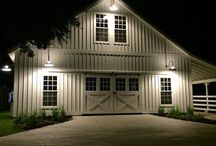 Barns & Sheds / A detached garage and/or shed is in the future for The Steel Fox Home. I love all the inspiration to give it that modern farmhouse style like the rest of our renovation.