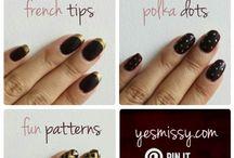 sharpie crafts @ nails