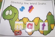 Phonics - CVC / Fun ideas for teaching phonics (cvc words) in the kindergarten classroom.