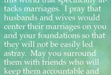 Prayer for Marriages / by Jennifer White