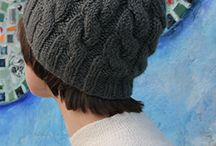 Chunky patteren Knitted adult hats