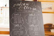 Wedding Calligraphy/Design