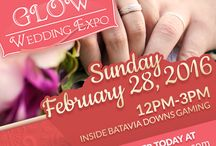 GLOW Wedding Expo / The GLOW Wedding Expo at Batavia Downs is the premier wedding show serving the GLOW (Genesee, Livingston, Orleans, Wyoming) region of Western New York. Come meet with vendors about your upcoming nuptials inside the spacious new Batavia Downs Gaming Paddock Room Events Center. You and your party will receive Free Play and be entered into contests sponsored by our vendors.