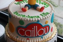 Caillou Birthday Party / Caillou Birthday Party ideas, activities, recipes, cake and decorations #caillou #birthday #party #kids