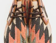 Res Ipsa Kilim Chukka Boots / Men's and women's kilim chukka boots...one-of-a-kind style all year long.