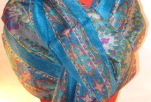 Pañuelos de seda / pañuelos de seda