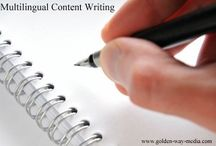 Multilingual content writing