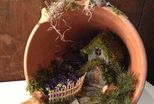 garden / fairy terracotta