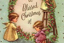 Cartes anciennes Ange Noël