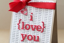 VALENTINE CARDS / Hand made cards / by Tina Hall