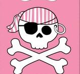 Pink Pirate Party Decorations and Ideas / Pretty and wicked at the same time! Have a rousing good time with these pink pirate party decorations and ideas. We have added some of our favorite pink pirate party supplies as well to help get you started.