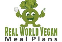 Real World Vegan Meal Plans / Where whole foods and convenience come together to help you follow a plant-based diet!