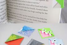 Paper crafts / Book markers