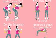 Exercise positions / by Treesa George