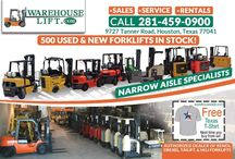 Used & New Forklifts In Stock